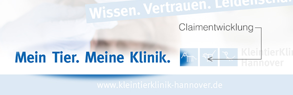 Claimentwicklung Kleintierklinik Hannover