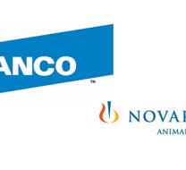 Logos Elanco und Novartis